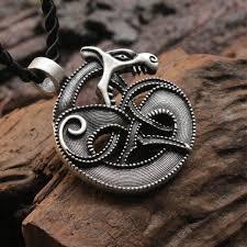 aliexpress men necklace images 10pcs viking retro wolf fenrir norse mythology pendant celt wolf jpg
