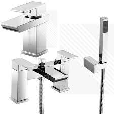 scudo escobar modern bath shower mixer basin tap pack deck mounted scudo escobar modern bath shower mixer basin tap pack deck mounted brass chrome