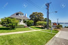 craftsman home exterior stock photos royalty free craftsman home