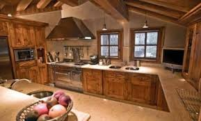 cuisine montagne awesome interieur chalet bois montagne gallery amazing house