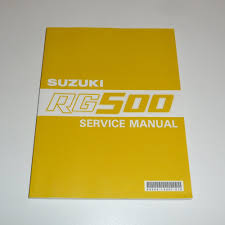 99500 14001 01e suzuki rg500 gamma workshop service manual book