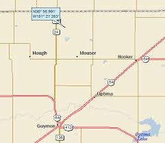 map ok panhandle oklahoma a landing a day