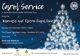 carol service tickets now on sale charliewaller