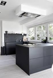 Black White Kitchen All Black Kitchen April And May Black Kitchens Kitchens And