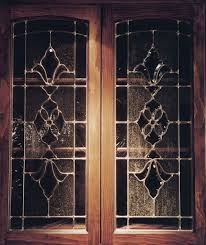 wood doors with glass inserts cabinet glass inserts sans soucie art glass