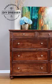 How To Build A Diy by How To Build A Diy Dresser Dresser Drawers And Bureaus