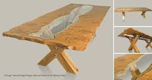 x leg dining table x legs pippy oak glass dining table the fine wooden article company