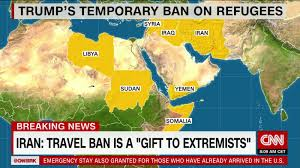 Map Of Islam Around The World by Trump U0027s Travel Ban Fundamentally Changes American History