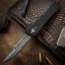 Hattori Kitchen Knives Marfione Custom Knives Combat Interceptor Otf Auto 3 875