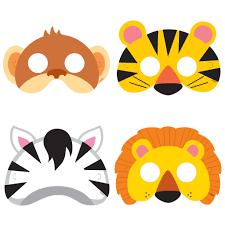 animal safari party masks safari party accessories
