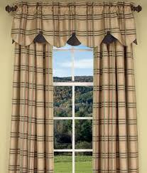Country Style Curtains And Valances Living Room Curtain Idea From Country Curtains All That Humor