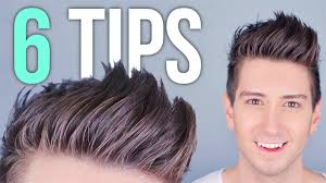 popular hair cuts for tall head 6 tips for styling tall hair men s hairstyles youtube