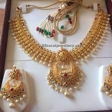 252 best necklace gold images on indian jewellery