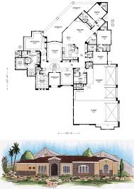 large home plans 4000 square feet and larger