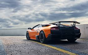 lamborghini back wallpaper lamborghini murcielago lp670 4 sv luxury back view
