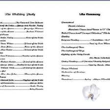 blank wedding program templates wedding program templates wedding programs and program template
