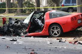 corvette crash wrecked wednesday how wrecked is far to revive