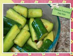 chinese cucumber cold dish u2013 simple recipes