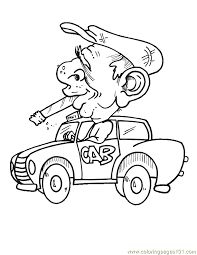 fire smoke cars colouring pages 2 coloring