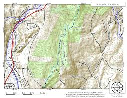 Grayson Highlands State Park Map by Gone Hikin U0027 Roosa Gap State Forest Ny