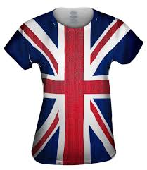 Flag Shirts Womens Women U0027s All Over Print Clothing Yizzam