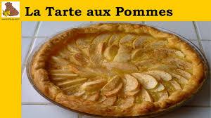 cuisine tarte aux pommes la tarte aux pommes recette rapide et facile hd