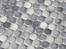 choose the best kitchen backsplash penny tile grey grout and grout