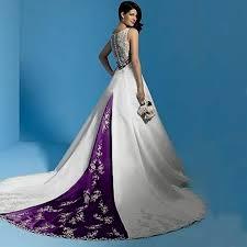 purple white wedding dress white and purple wedding dress white and purple wedding dress naf