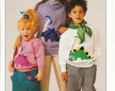knitting pattern dinosaur jumper dinosaur jumper knitting pattern sweaters for children and adults dk