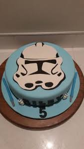 star wars storm trooper birthday cake by olive parties for all