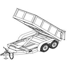 farm blueprints hydraulic dump trailer blueprints trailer blueprints northern