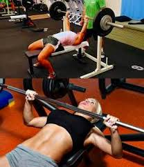 Bench Press Hypertrophy Workout Routine For Women To Gain Muscle Mass Strength And