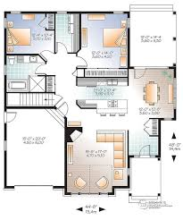 Large Luxury House Plans Modern House Plans With Open Concept