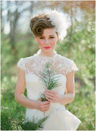 Vintage Weddings Fashion Vintage Wedding Hairstyles Ideas