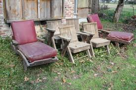 Wooden Outdoor Chaise Lounge Chairs Norcal Online Estate Auctions U0026 Estate Sales Lot 8 Set Of