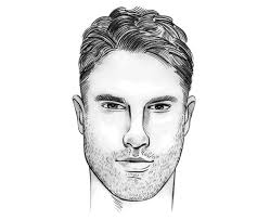 hair styles for oblong mens face shapes the perfect men s hairstyle haircut for a rectangle oblong face