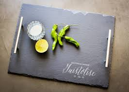 personalized cheese platter personalized cheese board custom serving platter slate and