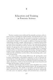 Construction Superintendent Resume Sample 8 Education And Training In Forensic Science Strengthening