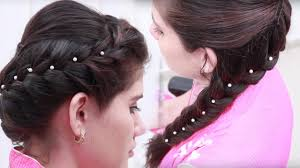 open hairstyles for round face dailymotion easy hairstyle for party hairstyle for occasion easy quick
