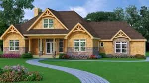 Craftman Style Home Plans by Craftsman Style House Plans Under 1700 Square Feet Youtube