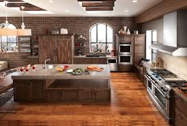 kitchen style wood kitchen islands with stove top and oven