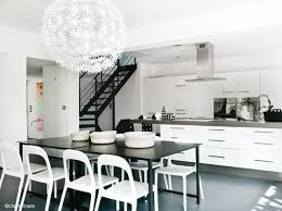 deco cuisine noir et blanc deco cuisine noir et blanc photos de design d intérieur et
