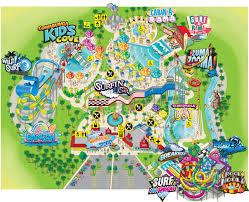 Map Of Las Vegas Nevada by Park Map Cowabunga Bay Las Vegas Water Park