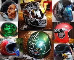 are painted motorcycle helmets legal motorbike writer