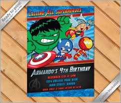 50 off sale comic super heroes birthday party invitation
