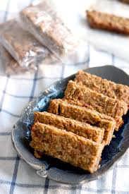 Almond U0026 Coconut Bars Coconut Snack Bars Kind Snacks by 5 Ingredient Peanut Butter And Banana Energy Bars Bowl Of Delicious