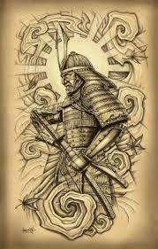 best 25 samurai mask tattoo ideas on pinterest oni tattoo
