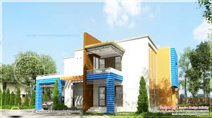 contemporary style kerala home design house exterior elevation modern style kerala home design and floor