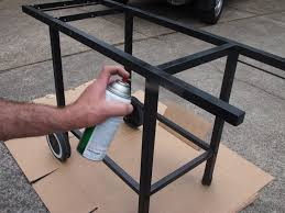 how to build a weber grill table grill table and lid support