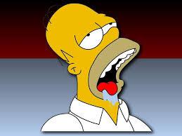 Homer Simpson Meme - homer simpson drooling quickmeme